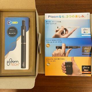 プルームテック(PloomTECH)のブルーム・テック・プラス(ploom tech+) スターターキット・ブラック(タバコグッズ)