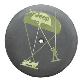 ジープ(Jeep)の【純正・未使用】JEEP JLラングラー ソフトタイヤカバー Willys 背面(車外アクセサリ)
