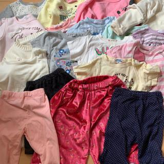 ニシマツヤ(西松屋)のキッズ 90サイズ 女の子 服 計19着まとめ売り(その他)