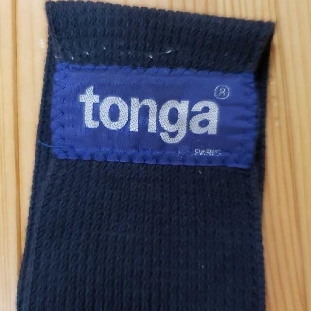 tonga スリング 黒 ブラック キッズ/ベビー/マタニティの外出/移動用品(スリング)の商品写真