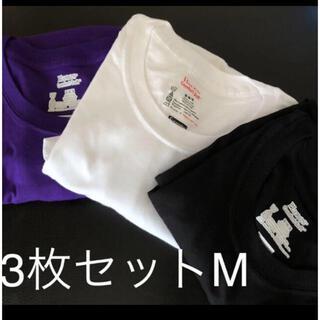 シュプリーム(Supreme)のシュプリーム ヘインズtee  M3色セット(Tシャツ/カットソー(半袖/袖なし))