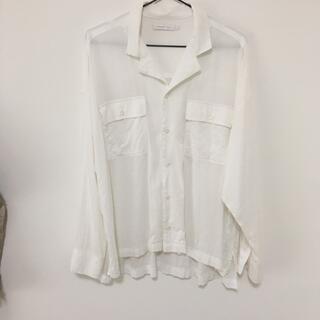 白 シャツ アメリカンホリック l(シャツ/ブラウス(長袖/七分))