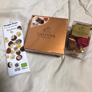 GODIVA、オーガニックチョコレートセット(菓子/デザート)