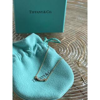 ティファニー(Tiffany & Co.)の専用Tiffany Tスマイル ダイヤ ネックレス ローズゴールド ティファニー(ネックレス)