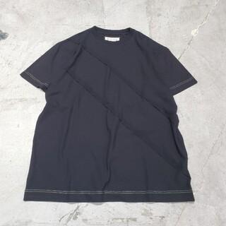 マルタンマルジェラ(Maison Martin Margiela)のメゾン マルタン マルジェラ 4つ角 big Tシャツ カットソー サイズ S(Tシャツ(半袖/袖なし))