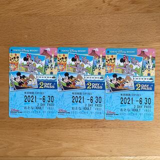 ディズニー(Disney)のディズニーリゾートライン フリー切符2Day(鉄道乗車券)