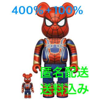 メディコムトイ(MEDICOM TOY)のBE@RBRICK IRON SPIDER 100% & 400%(その他)
