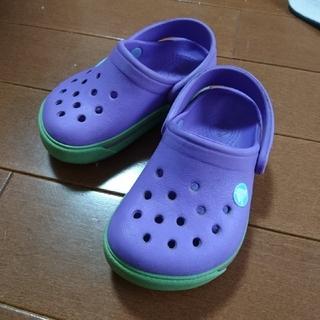 crocs - crocs サンダル ベビー キッズ 4c5 12㎝くらい クロックス