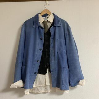 50s フレンチモールスキンワークジャケット(カバーオール)