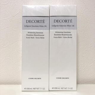 COSME DECORTE - 【新品】コスメデコルテ セルジェニー エマルジョン ホワイト ER 2本セット