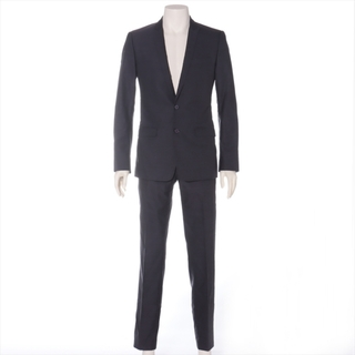 ドルチェアンドガッバーナ(DOLCE&GABBANA)のドルチェ&ガッバーナ  ウール×シルク 44 パープル メンズ スーツ(セットアップ)