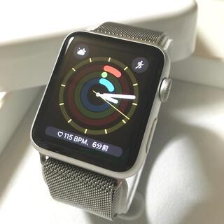 Apple Watch - Apple Watch SPORT シルバー アップルウォッチ 42mm