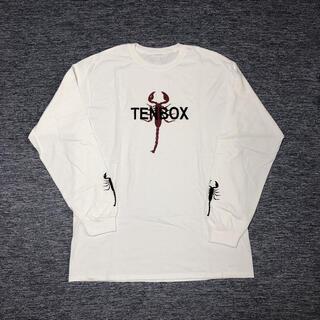 ビームス(BEAMS)のtenboxサソリロンT白(Tシャツ(長袖/七分))