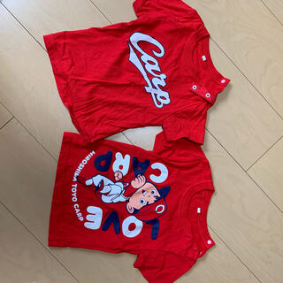 広島東洋カープ - 広島カープ CARP Tシャツ セット 90センチ