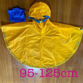 モンベル(mont bell)のモンベル キッズ レインポンチョ 雨具 ポンチョ イエロー 95-125cm  (レインコート)