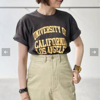 アパルトモンドゥーズィエムクラス(L'Appartement DEUXIEME CLASSE)の【GOOD ROCK SPEED】College T-sh UCLA(BK)(Tシャツ(半袖/袖なし))