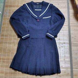 コスプレ衣裳 大きめサイズ セーラー服 上下セット 本物(衣装一式)