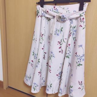 MISCH MASCH - ミッシュマッシュ スカート 花柄 フレア