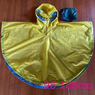 モンベル(mont bell)のモンベル  キッズ レインポンチョ ポンチョ イエロー 黄色 95-125cm(レインコート)