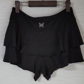 チャコット(CHACOTT)のチャコット キュロットスカート 黒 L(ダンス/バレエ)