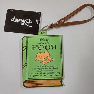 クマノプーサン(くまのプーさん)のプーさん カードケース(パスケース/IDカードホルダー)