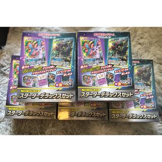 ポケモンカード  TAG TEAM GX スターターデラックスセット 5箱(Box/デッキ/パック)