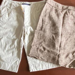 ラルフローレン(Ralph Lauren)のラルフローレン タイトスカート ショートパンツ セット(ひざ丈スカート)