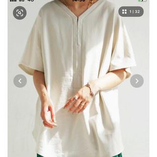 アンティカ(antiqua)のアンティカ  トップス白 新品(カットソー(半袖/袖なし))