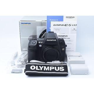 オリンパス(OLYMPUS)の★美品★ OLYMPUS E-5 ボディ(デジタル一眼)
