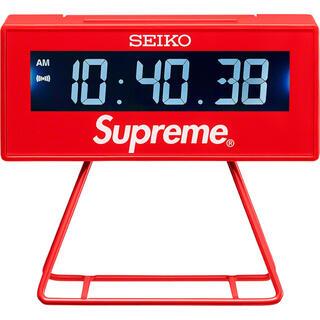 シュプリーム(Supreme)のsupreme seiko marathon clock 新品 未使用(置時計)