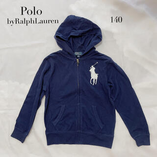 ポロラルフローレン(POLO RALPH LAUREN)のPoloRalphLaurenポロラルフローレン ビッグポニーパーカー 140(ジャケット/上着)