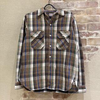 WAREHOUSE - WEARHOUSE ヘビーオンスネルシャツ