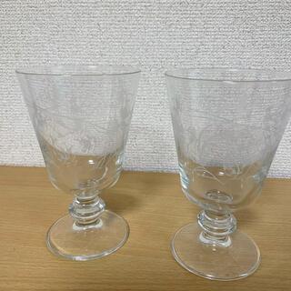 ザラホーム(ZARA HOME)のZaraHome  ワイングラス ペア(グラス/カップ)