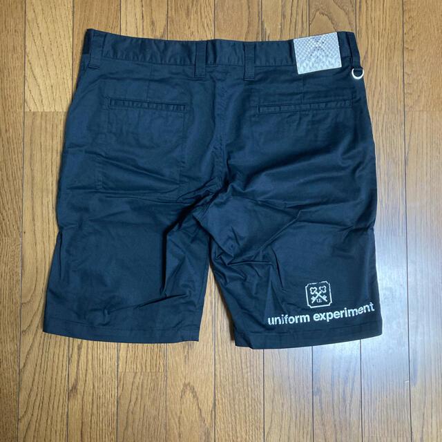 uniform experiment(ユニフォームエクスペリメント)のshinkaori 様 専用 16ss ストレッチコットンショーツ メンズのパンツ(ショートパンツ)の商品写真
