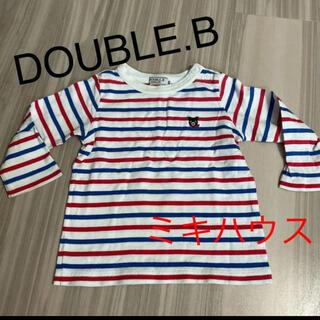 ダブルビー(DOUBLE.B)のミキハウス ダブルビー ロンT(Tシャツ)
