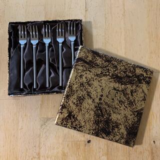 タチキチ(たち吉)のアダムアンドイブ フォーク 新品未使用(カトラリー/箸)