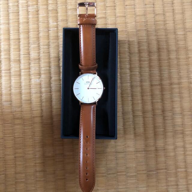 Daniel Wellington(ダニエルウェリントン)のダニエルウェリントン メンズの時計(レザーベルト)の商品写真