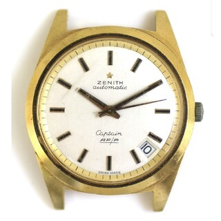 ZENITH - ゼニス キャプテン Cal.408 K18YG アンティーク 自動巻き