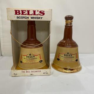 588 新品 未開封 BELL'S ベルズ 2本セット 古酒 洋酒 まとめ売り(ウイスキー)