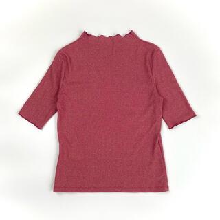 センスオブプレイスバイアーバンリサーチ(SENSE OF PLACE by URBAN RESEARCH)のラメトップス Tシャツ tee トップス ラメ(Tシャツ(半袖/袖なし))