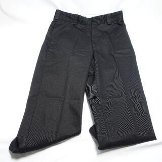 ユニクロ(UNIQLO)のUNIQLO レギュラーフィットワークパンツ メンズ ブラック(ワークパンツ/カーゴパンツ)