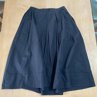 スピックスパン★フレームワーク コードステッチフレアスカート 日本製(ロングスカート)