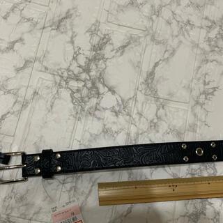 シマムラ(しまむら)の黒ベルトロング 105センチ(ベルト)