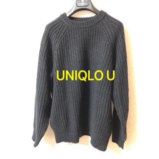 ユニクロ(UNIQLO)のUNIQLO U モックネックニット(ニット/セーター)