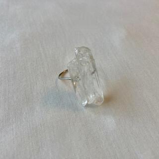 アメリヴィンテージ(Ameri VINTAGE)の୨୧ Vintage rétro Crystal Ice Ring(リング)