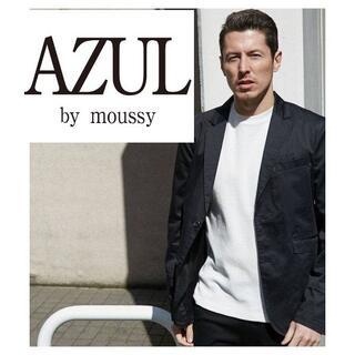 アズールバイマウジー(AZUL by moussy)のサテンストレッチテーラード ジャケット(テーラードジャケット)