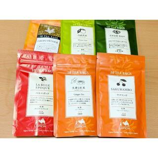 ルピシア(LUPICIA)の【らんぷ様専用】ルピシアのティーバッグ5点(バラエティ)(茶)