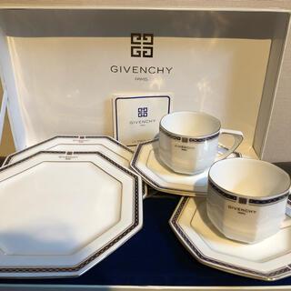 GIVENCHY - 【新品未使用】GIVENCHY ティーカップ&ケーキ皿