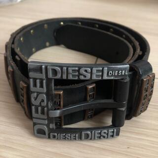 ディーゼル(DIESEL)のDIESEL ディーゼル メンズ ベルト 黒 ブラック (ベルト)