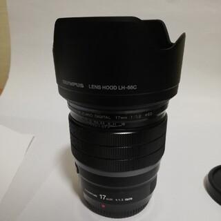 オリンパス(OLYMPUS)のオリンパス単焦点レンズ ED17mmF1.2PRO(レンズ(単焦点))